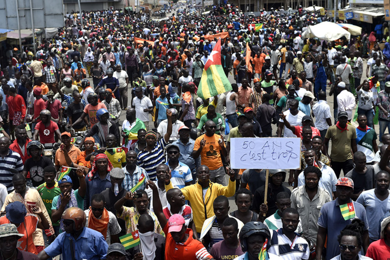 Togo: nouvelle manifestation de masse à Lomé à l'appel de l'opposition