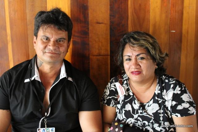 Laurent et Elise Viriamu, agriculteurs de Tubuai.