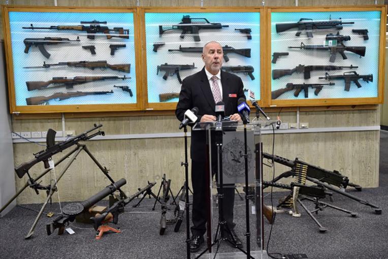 Près de 26.000 armes à feu illégales récupérées en Australie