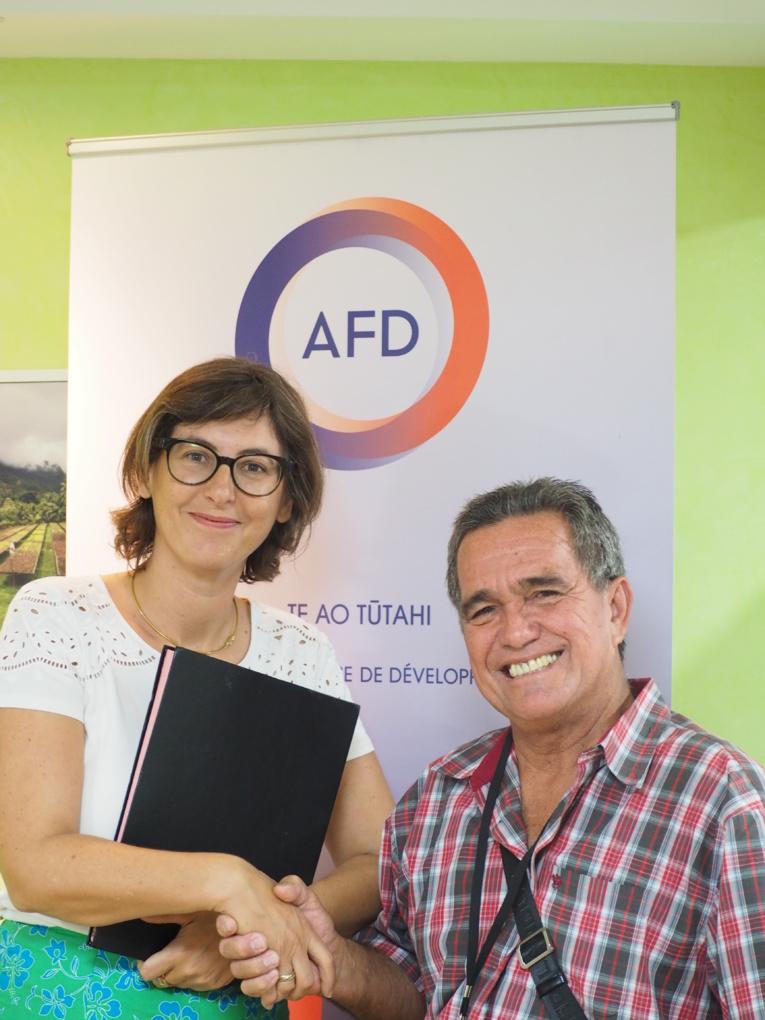 La commune de Puka Puka signe une convention de financement avec l'AFD