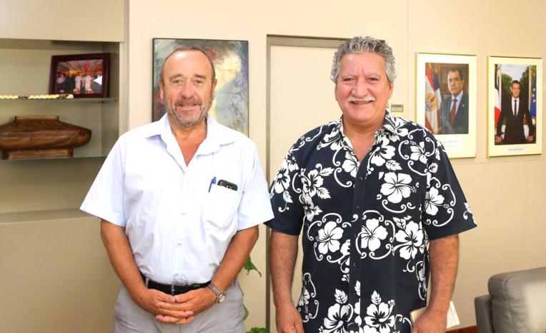 Le directeur régional Outre-mer  de la Caisse des Dépôts et Consignations en Polynésie