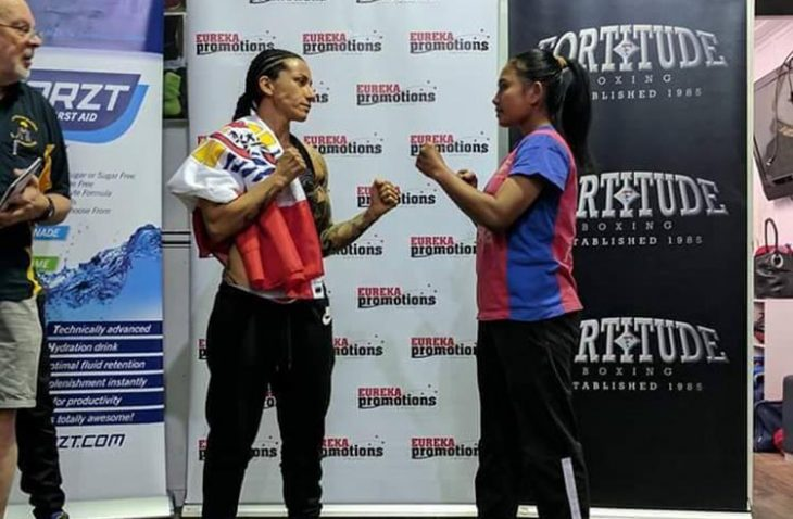 Hani Flore a fait son premier combat de boxe pro