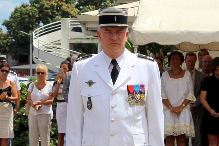 Le Colonel Frédéric Boudier, un nouveau patron pour la gendarmerie
