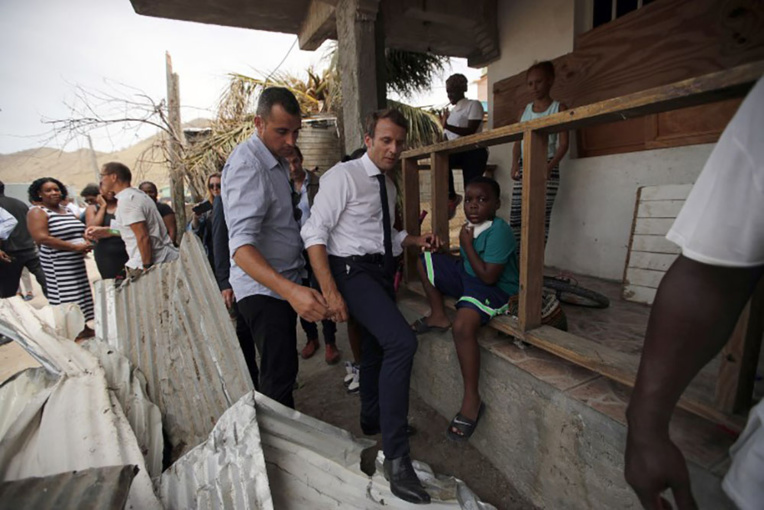 Irma: après Saint-Martin, Macron au chevet de Saint-Barthélemy