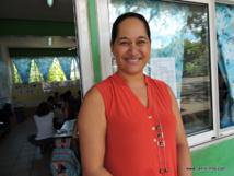 Tauhia Tinorua, enseignante en CP.