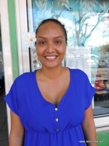 Tauhia Oopa, enseignante en CP.