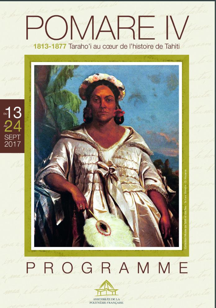 L'assemblée de Polynésie consacre une exposition à la Reine Pomare IV