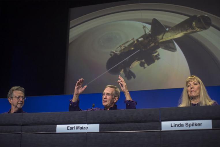 Cassini a tiré sa révérence, concluant 13 ans d'exploration fructueuse de Saturne