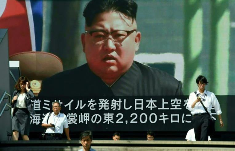 Pyongyang fait fi de l'ONU et tire un missile au-dessus du Japon