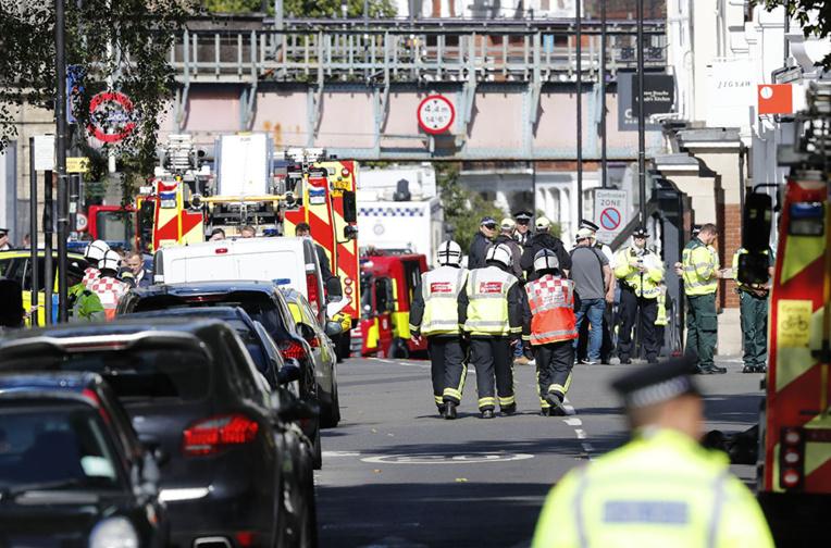 Vingt-deux blessés après un attentat dans le métro londonien