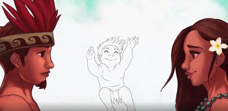 """""""Dessine-moi une légende"""" : une série animée bilingue sur la mythologie polynésienne"""