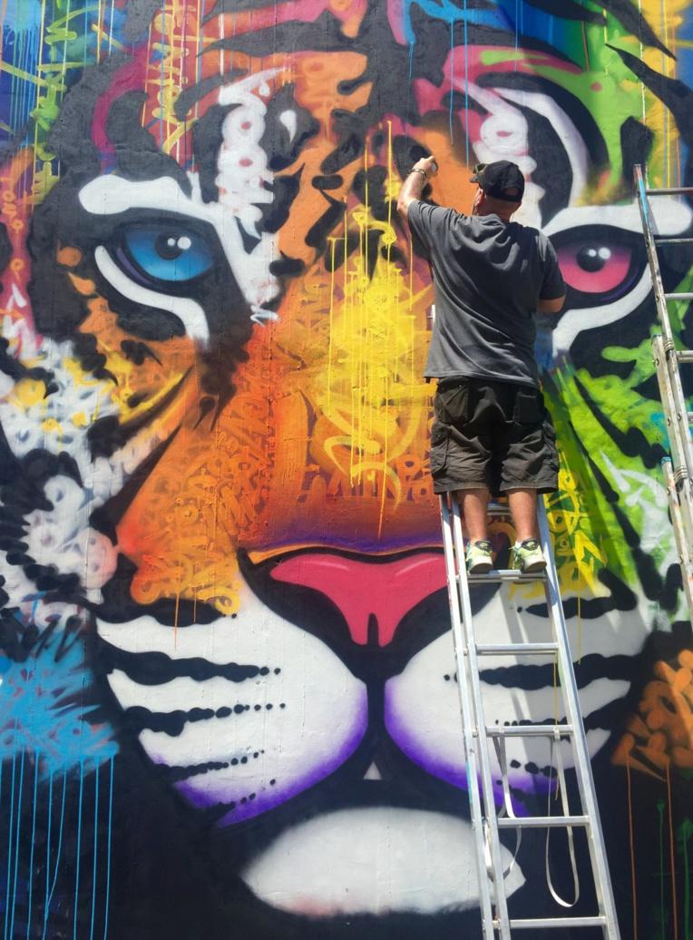 """À l'instar de Marko93 alias """"Darkvapor"""", les plus grands noms du street art seront de retour au fenua dès le 1er octobre !"""