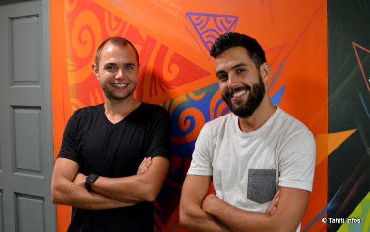 """Julien de Sousa (à droite) va animer l'atelier """"4h pour créer sa start-up"""", en compagnie d'Alan Touchard, nouveau """"chargé d'émergence et d'innovation"""" du PRISM."""