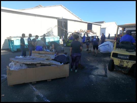 FAPF : la base navale en mission éco-citoyenne