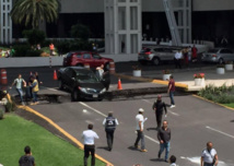 L'aéroport de Mexico a été évacué et tous les vols sont suspendus ou détournés