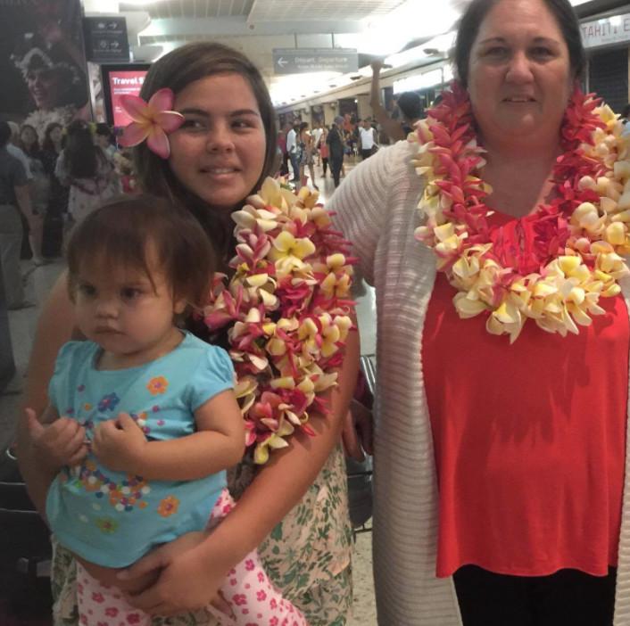 Solidarité: Laurence et ses trois enfants de retour au fenua