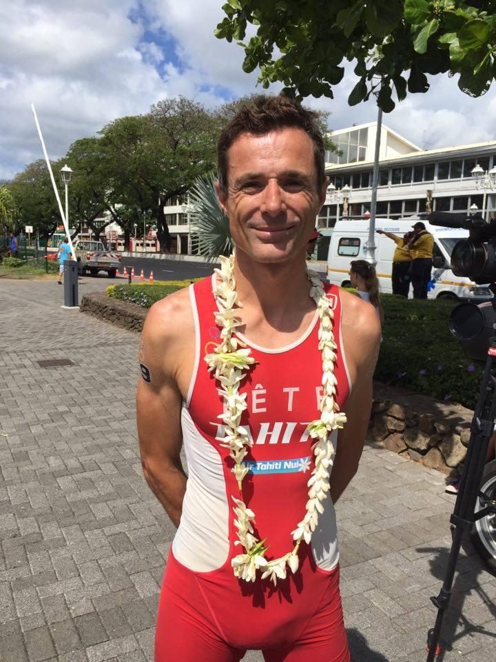 Frédéric Tête participera au triathlon OTU dimanche