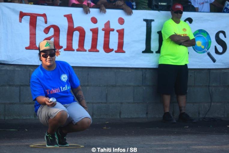 Meherio Terei s'était illustrée en remportant le dernier Trophée Tahiti Infos