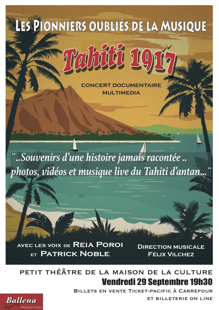 """""""Tahiti 1917"""" : hommage aux pionniers oubliés de la musique"""