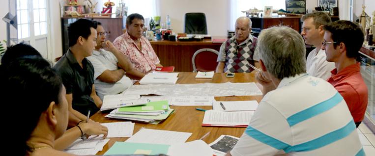 Projet d'aménagement de la route de ceinture de Paea