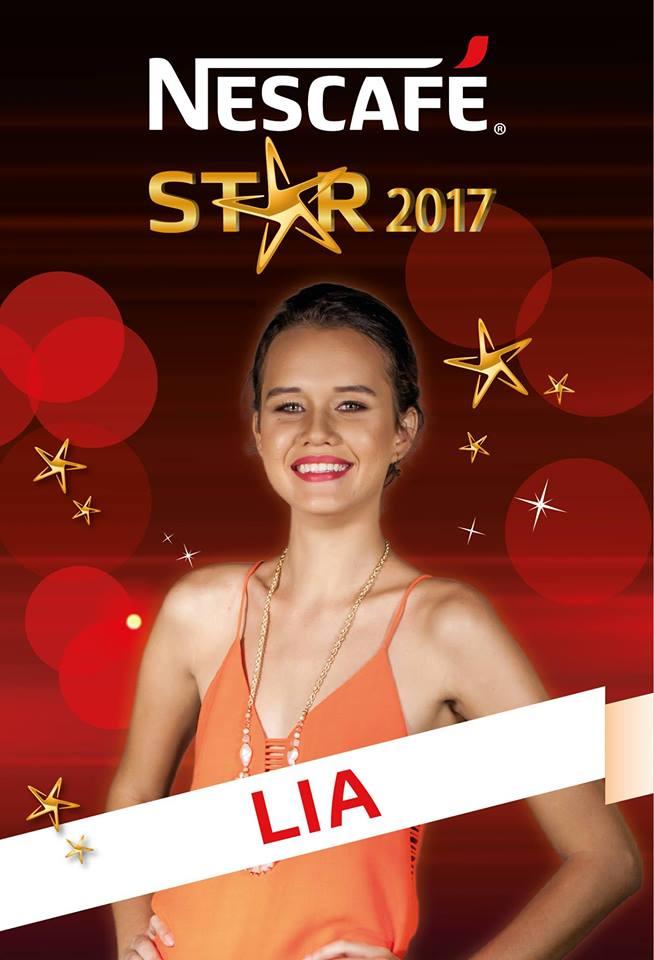 Nescafé Star 2017 : Lia sur la première marche du podium