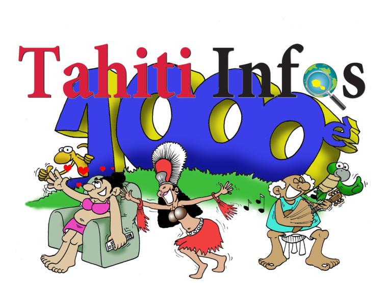 """"""" Le 1000ème Tahiti Infos """" par Munoz"""