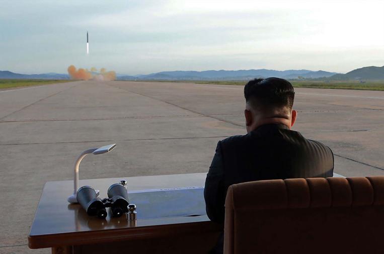 """Pyongyang accuse Trump d'avoir """"déclaré la guerre"""", """"absurde"""", rétorque Washington"""