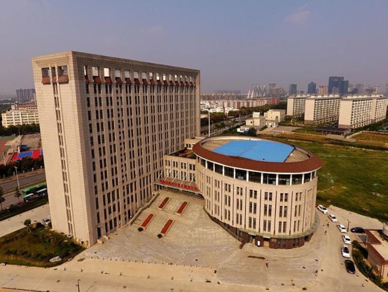 Chine: une fac en forme de WC géants