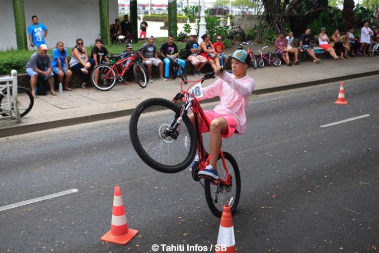 Wesley Brodien gagne le concours de wheeling