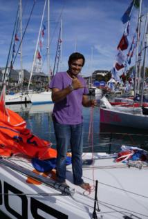 Un skipper de Tahiti dans la mini transat-La Boulangère: faaito'ito Guillaume!