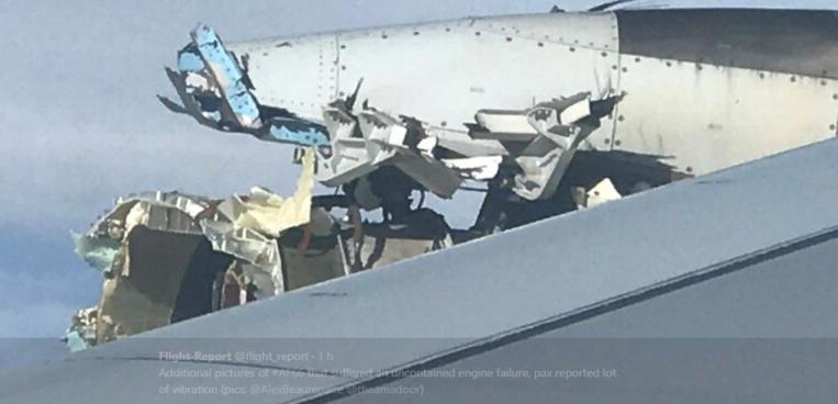 Les passagers du vol #AF66 Paris-Los Angeles du jour vont se souvenir de leur voyage longtemps