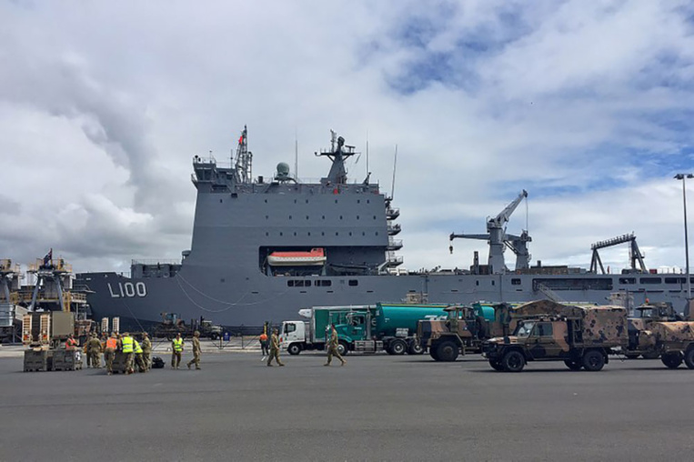 Risque volcanique: L'Australie dépêche un navire d'aide au Vanuatu