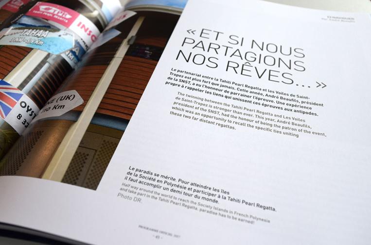 Tahiti et la TPR s'invitent dans la rade de Saint-Tropez