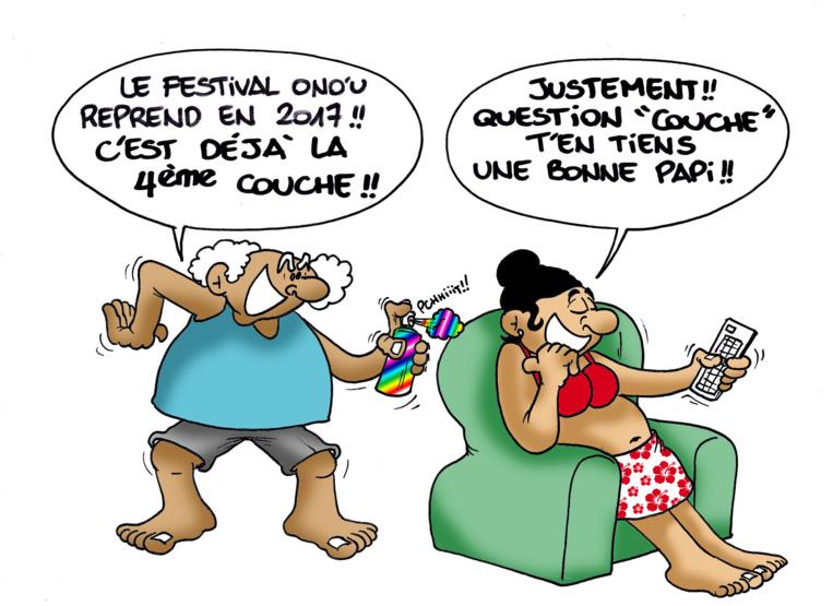 """"""" Le Festival Ono'u """" vu par Munoz"""
