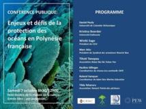 Une conférence sur la protection de notre océan ce samedi
