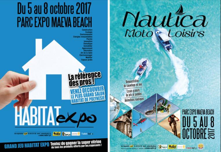 """Habitat Expo et Nautica: """"2 salons en 1"""" ouvrent demain à Punaauia"""