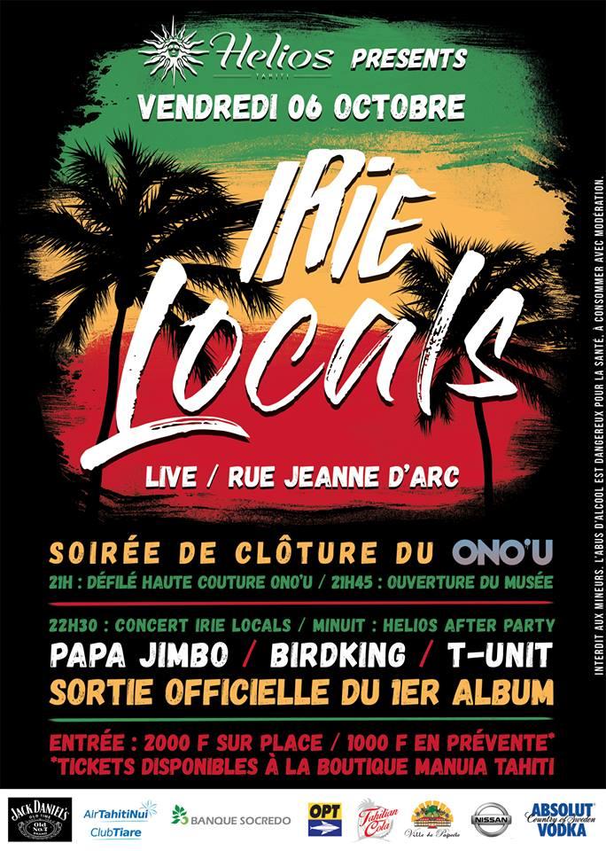 Irie Locals en concert demain soir pour fêter leur premier album