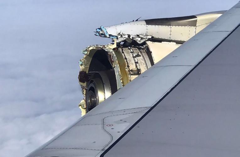 Avarie moteur sur un A380: des pièces acheminées à Paris