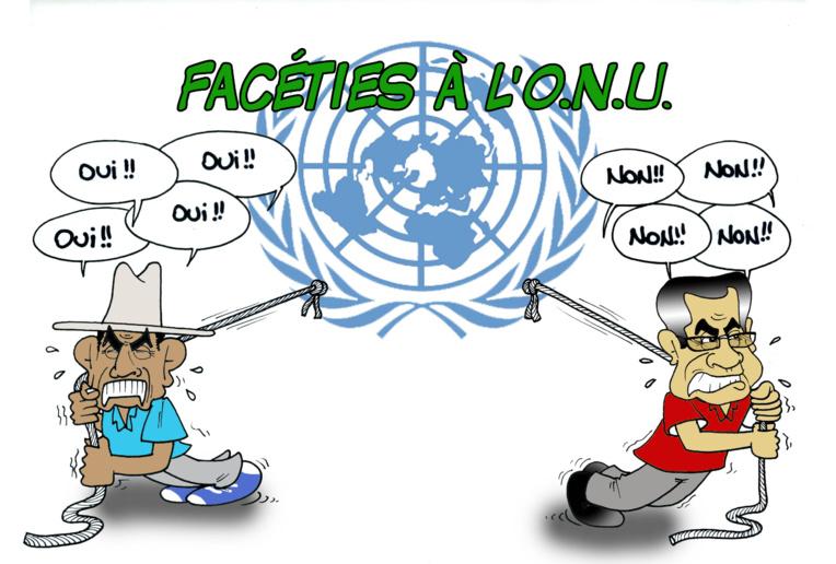 """"""" Bras de fer à l'ONU """" par Munoz"""