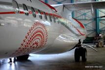 Air Tahiti dévoile une nouvelle livrée à l'image de la Polynésie