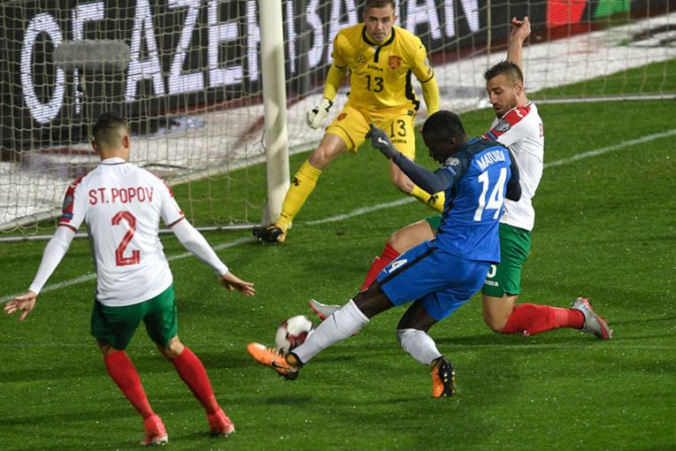 Chez les Bleus, Blaise Matuidi a marqué le seul but en Bulgarie samedi, en qualifications au Mondial-2018.