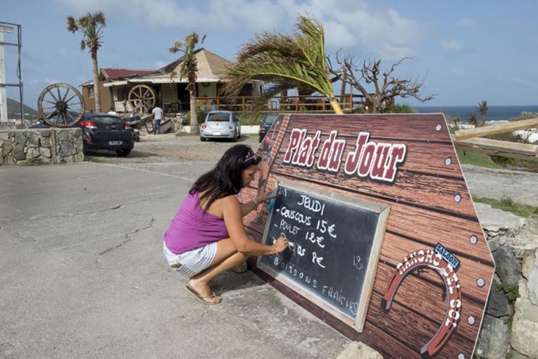 Plus de 4.000 salariés en chômage partiel à St-Martin et St-Barth après Irma