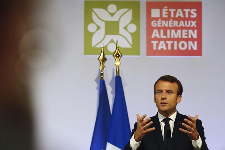 Macron annonce des ordonnances pour améliorer les revenus des agriculteurs