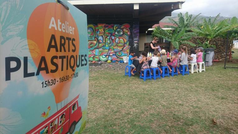 Samedi, de 15h30 à 18h30, dix ateliers créatifs, ludiques et pédagogiques seront proposés aux enfants dans les jardins du Musée de Tahiti et des îles. Attention, les réservations sur Internet sont closes, mais des places seront disponibles sur le site.