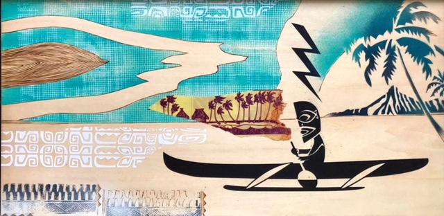 """Du street art à la culture pop, en passant par """"la culture du Tiki"""", les influences de KNKY sont nombreuses."""
