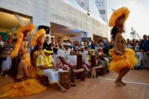 Un second show tahitien au coeur du village en guise de préambule au cocktail de clôture.
