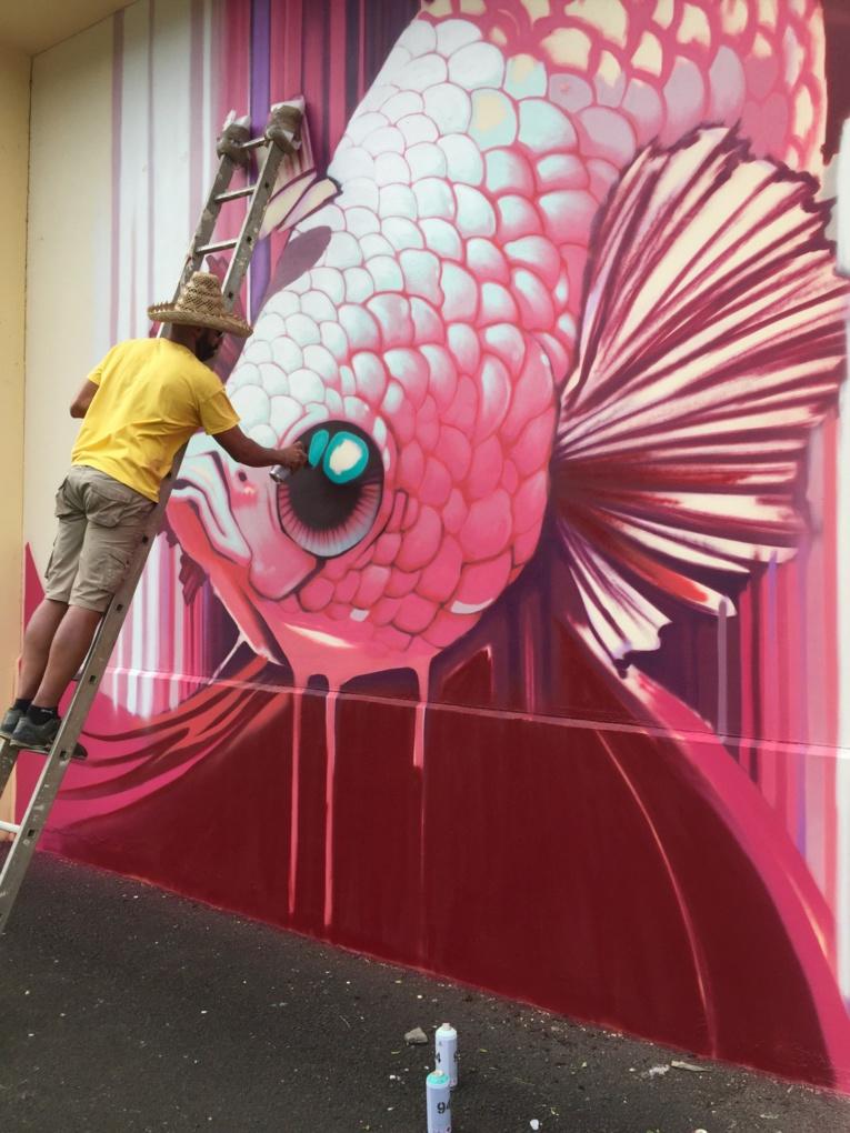 Le poisson venu d'Asie par le lyonnais Kalouf.