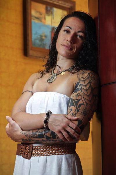 Arts Martiaux - Portrait : Flore Hani alias « Aito Hine », la guerrière
