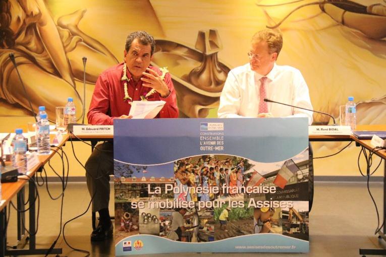 Lancement des Assises de l'Outre-mer en Polynésie