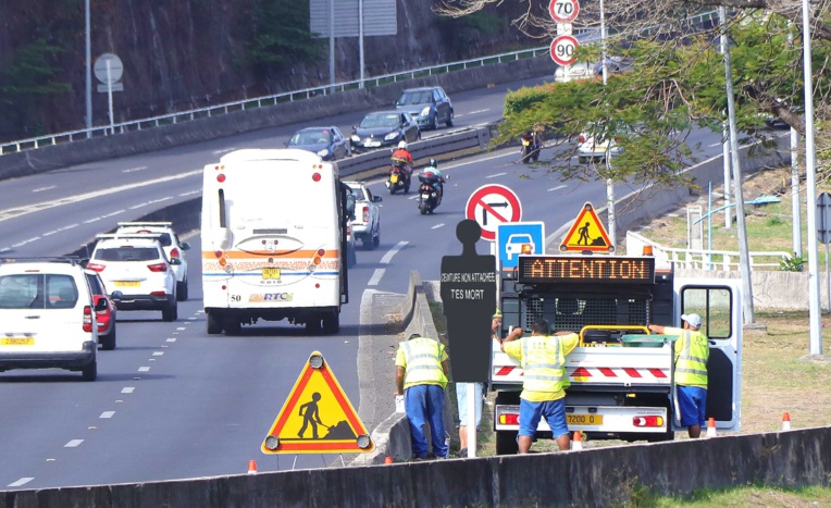 Sécurité routière : opération silhouettes noires